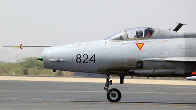 02-824 - Chengdu F-7PG - Pakistan - Air Force