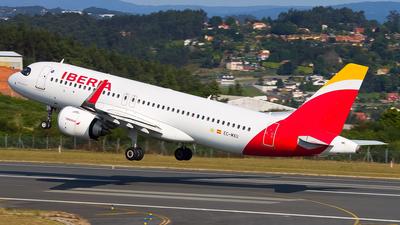 A picture of ECMXU - Airbus A320251N - Iberia - © Inaki Ropero Pipaón