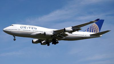 N197UA - Boeing 747-422 - United Airlines