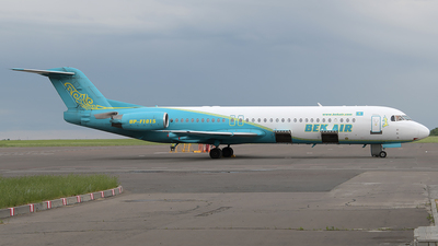UP-F1015 - Fokker 100 - Bek Air