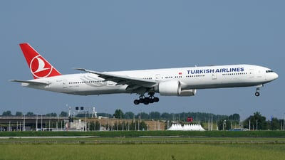 A picture of TCJJT - Boeing 7773F2(ER) - Turkish Airlines - © Jan Seler