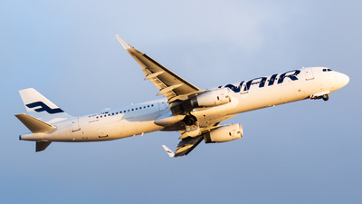 A picture of OHLZM - Airbus A321231 - Finnair - © Otto Kiiski
