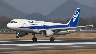 JA8300 - Airbus A320-211 - All Nippon Airways (ANA)