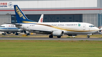 A picture of B5072 - Boeing 737341(QC) - China Postal Airlines - © Eric Page Lu