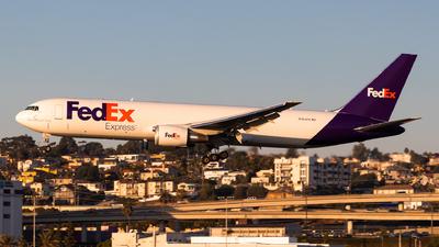 A picture of N184FE - Boeing 767300F(ER) - FedEx - © Brandon Ravelo