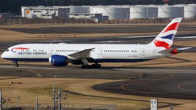 A picture of GZBKH - Boeing 7879 Dreamliner - British Airways - © Ernest Leung