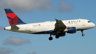 N353NB - Airbus A319-114 - Delta Air Lines