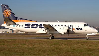 LV-CYC - Saab 340B - Sol Líneas Aéreas
