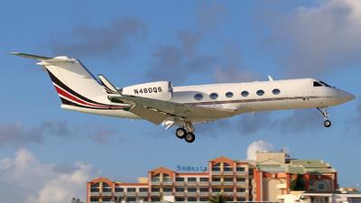 N480QS - Gulfstream G-IV(SP) - NetJets Aviation