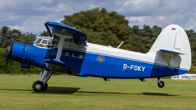 D-FOKY - PZL-Mielec An-2 - Private