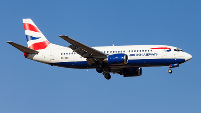 ZS-OKG - Boeing 737-376 - British Airways (Comair)