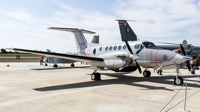 AS1731 - Beechcraft 200 Super King Air - Malta - Armed Forces