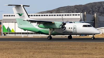 A picture of LNWID - De Havilland Canada Dash 8100 - Wideroe - © Kim Vanvik