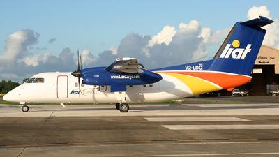 V2-LDQ - Bombardier Dash 8-102 - LIAT Cargo