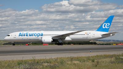 EC-NBM - Boeing 787-9 Dreamliner - Air Europa