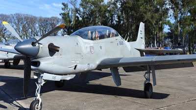 E-116 - Embraer EMB-312 Tucano - Argentina - Air Force