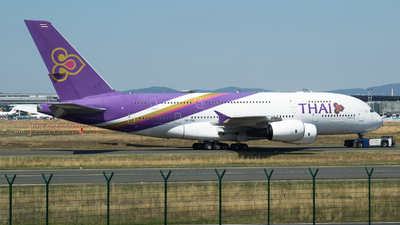 HS-TUA - Airbus A380-841 - Thai Airways International