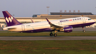 B-8845 - Airbus A320-214 - West Air