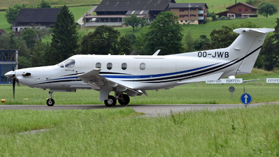 OO-JWB - Pilatus PC-12/47E - Private
