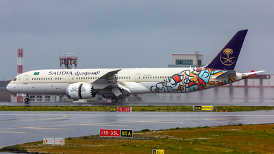 A picture of HZAR13 - Boeing 7879 Dreamliner - Saudia - © TR_SPOTTER