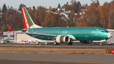 N1787B - Boeing 737-8 MAX - Boeing Company