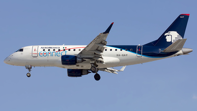 XA-GAY - Embraer 170-100LR - Aeroméxico Connect