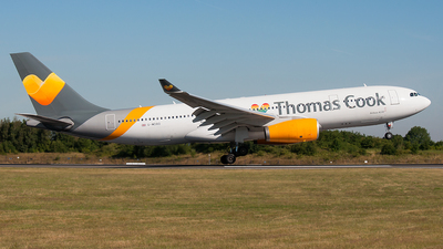 G-MDBD - Airbus A330-243 - Thomas Cook Airlines