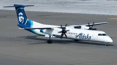 A picture of N447QX - De Havilland Canada Dash 8400 - Alaska Airlines - © zhangmx969