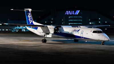 A picture of JA850A - De Havilland Canada Dash 8400 - All Nippon Airways - © cunetaru