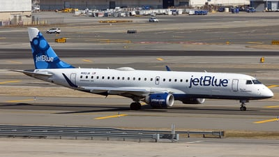 A picture of N192JB - Embraer E190AR - JetBlue Airways - © AznHentaiSpotter