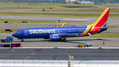 A picture of N8546V - Boeing 7378H4 - Southwest Airlines - © bellcc