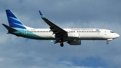 PK-GNL - Boeing 737-86N - Garuda Indonesia