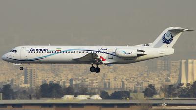 EP-ATC - Fokker 100 - Iran Aseman Airlines