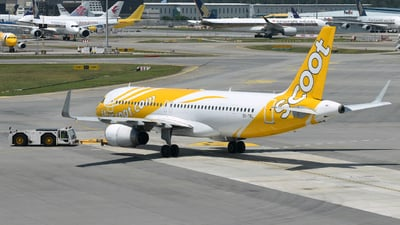 9V-TRL - Airbus A320-232 - Scoot