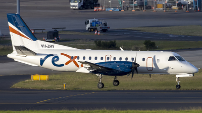 VH-ZRY - Saab 340B - Regional Express (REX)