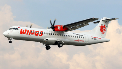 PK-WJU - ATR 72-212A(600) - Wings Air