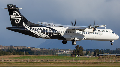 ZK-MVN - ATR 72-212A(600) - Air New Zealand Link (Mount Cook Airline)
