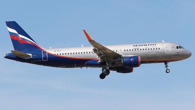A picture of VPBET - Airbus A320214 - Aeroflot - © Mikhail Tkachuk