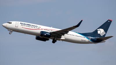 N859AM - Boeing 737-8Q8 - Aeroméxico