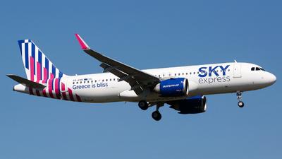 SX-CHG - Airbus A320-251N - Sky Express
