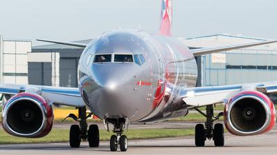 G-JZHO - Boeing 737-8MG - Jet2.com