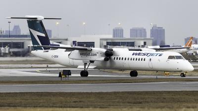 A picture of CGDEN - De Havilland Canada Dash 8400 - WestJet - © Maik Voigt