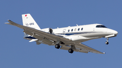 TC-GRS - Cessna Citation Latitude - Private