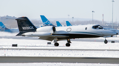 A picture of N220CK - Learjet 35A - Airnet - © MMD Spotter