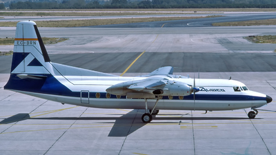 EC-BRN - Fokker F27-100 Friendship - Aviaco