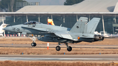 C.15-13 - McDonnell Douglas EF-18M Hornet - Spain - Air Force