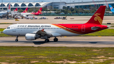 A picture of B9979 - Airbus A320214 - Shenzhen Airlines - © YZXL