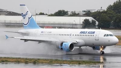 F-GXAH - Airbus A319-112 - Aigle Azur