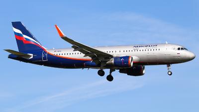 VP-BTC - Airbus A320-214 - Aeroflot