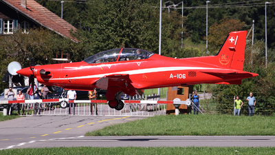 A-106 - Pilatus PC-21 - Switzerland - Air Force